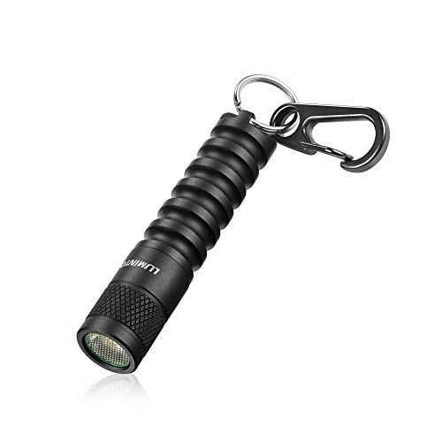 LUMINTOP EDC01 Keychain Flashlight, 120 lumens Pocket EDC Flashlight,36 hours Long lasting,3 modes,IPX8 Waterproof,Powered by AAA battery(not Included) for Indoor and Outdoor