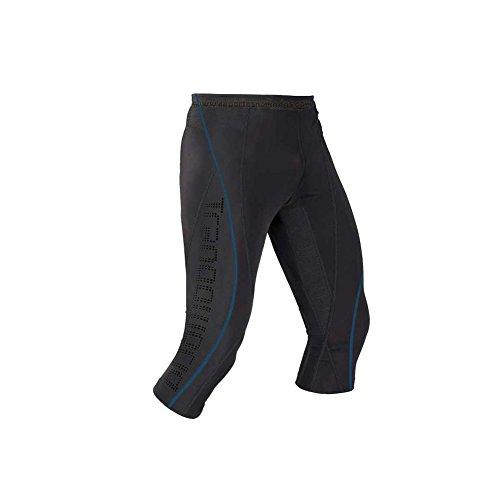 Trangoworld Pantalon corsaire homme Rheno T.XL black/blue