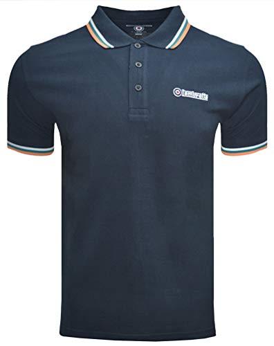 Men's Lambretta Twin Tipped Polo Shirt, 18 Colours