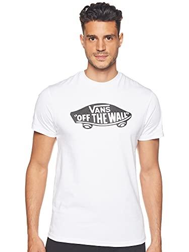 Vans Herren OTW T-Shirt, Weiß (WHITE-BLACK YB2), Medium