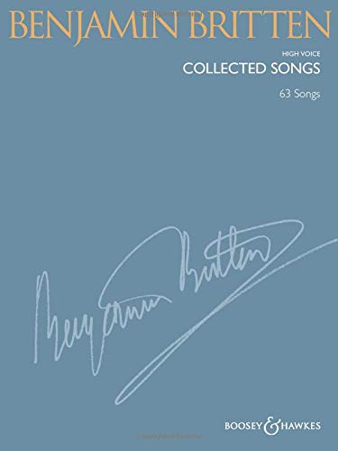 Collected Songs: High Voice: 63 Songs