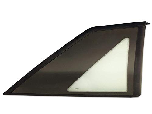 Drake Muscle Cars Quarter Windows Compatible with 1987-1993 Ford Mustang Hatchback, Model E7ZZ-6129710/1B