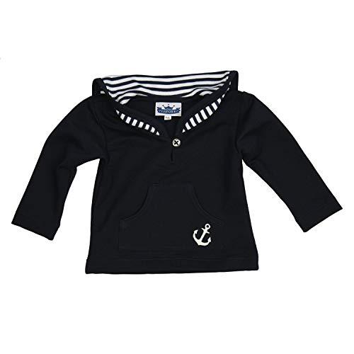 Baby Shirt Langarmshirt im Matrosenlook Marine Matrosenshirt, 100% Baumwolle in Größe 92