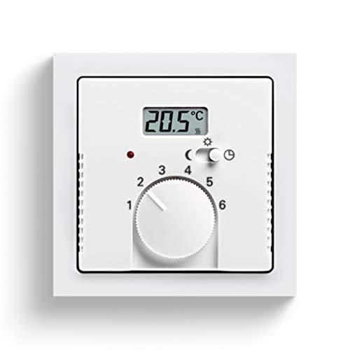 Niessen olas - Tapa termostato calefacción con interruptor olas cobre saten