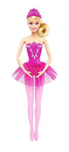 Barbie- Ballerina con tutù-per Sognare in Grande, Colore Rosa, DHM42