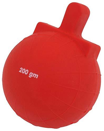 Boje Sport VINEX Nockenball für Speerwurf - 200 g, rot