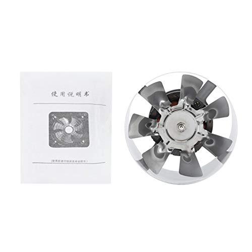 Raguso Ventilador Extractor de Pared Ventilador Extractor de Ventana para Cocina para baño