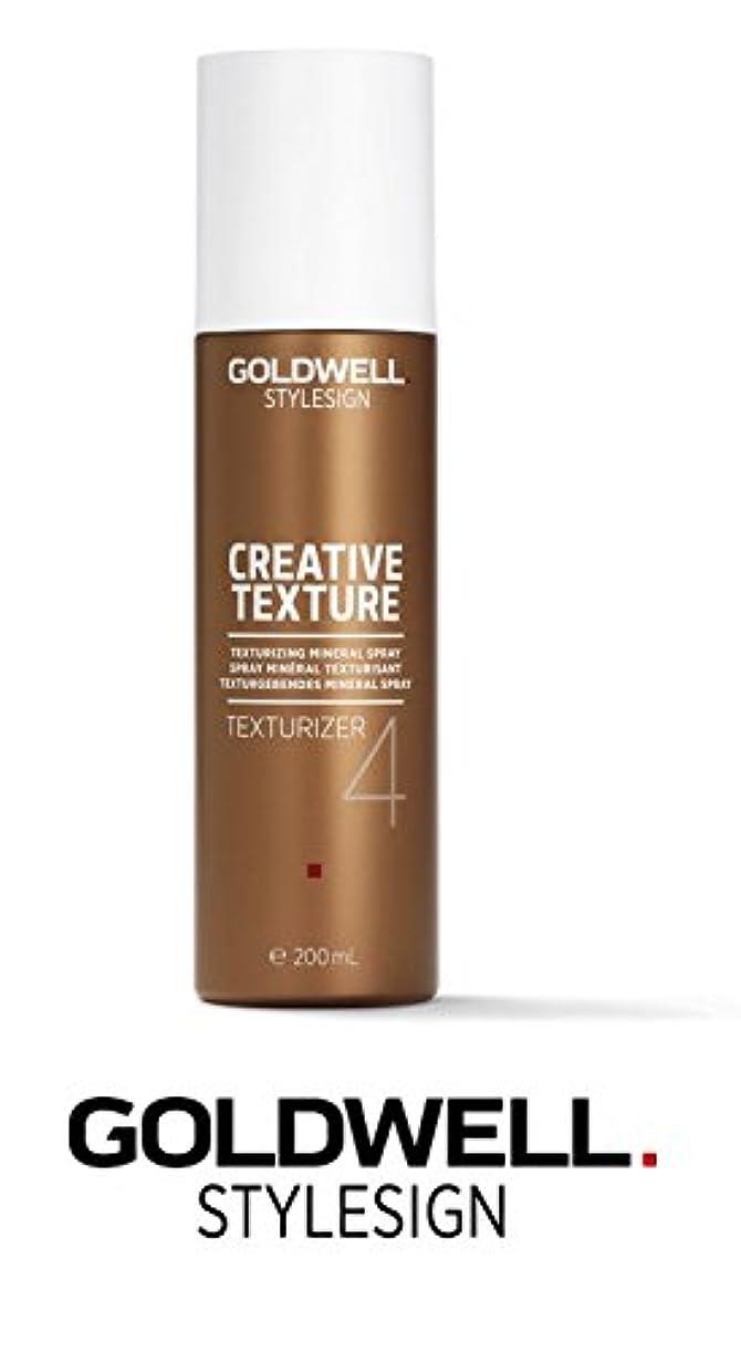 慢性的思慮のない習熟度Goldwell Stylesignクリエイティブテクスチャライザ4テクスチャ化ミネラルスプレー - 6.7オンス(なめらかなスチールピンテールコーム付き)
