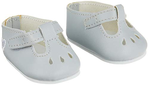 Corolle–fcw20–Schuhe für Babypuppe–36cm–Grau