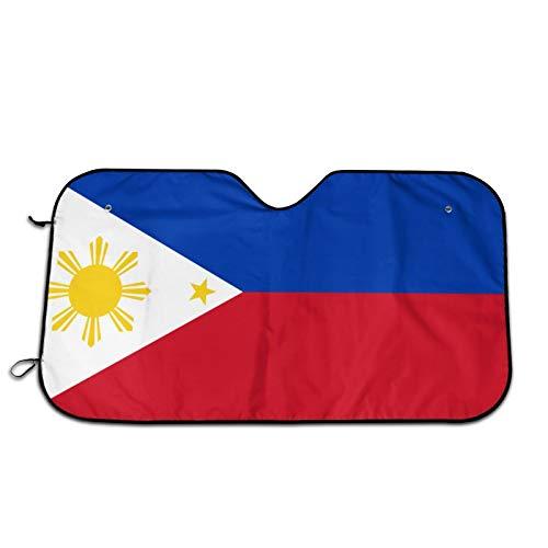 Yangzhi Filipino Flag Windshield Sun Shade Cover Summer Car Windows Decor Outdoor Vehicle Accessories Sunshade Auto for Women Men