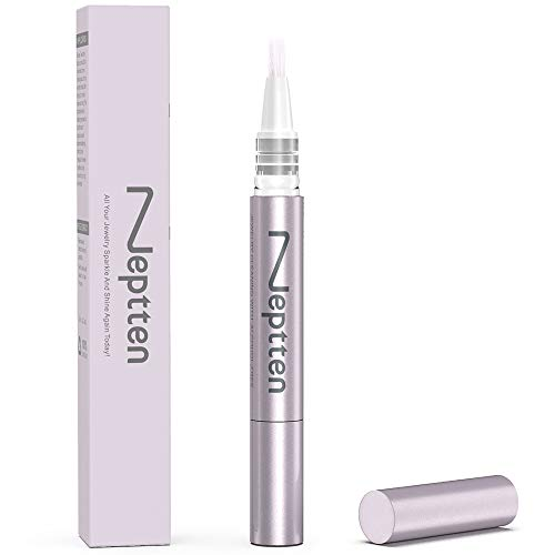 Neptten Jewelry Cleaner, The Original Natural Jewelry Cleaner Pen. Simple and Fast Diamond Dazzle Stik. Non-Toxic and TSA Approved Ring Cleaner. Secrets to Keeping Your Ring Sparkling