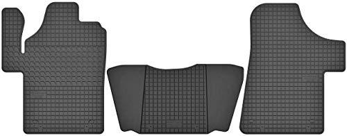 Motohobby Gummimatten Gummi Fußmatten Satz für Mercedes-Benz Vito W639 / Viano (2003-2014) - Passgenau