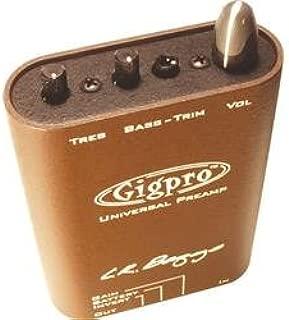Lr Baggs Gig Pro Belt Clip Universal Pre Amp for Violin Guitar Mandolin