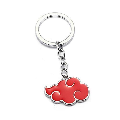 SGOT Anime Naruto Schlüsselanhänger, Akatsuki Keychains, Metall Schlüsselbund, Dekoration für Anime Lovers(H02)
