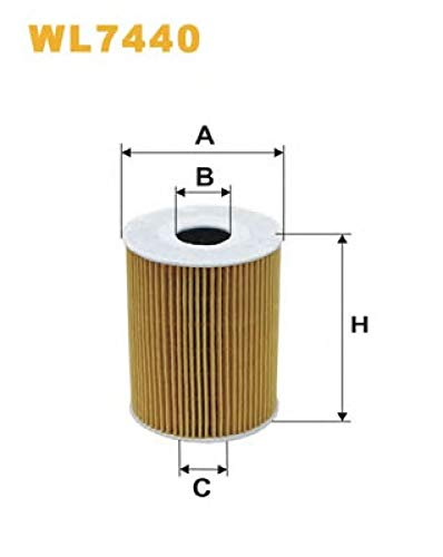 Filtro de aceite 020-WL7440
