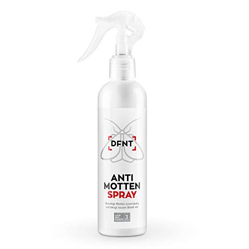 DFNT Spray antipolillas armarios l Insecticida para polillas l Antipolillas Alimentos y Ropa Biodegradable 250 ml l Alternativa a Trampa polillas