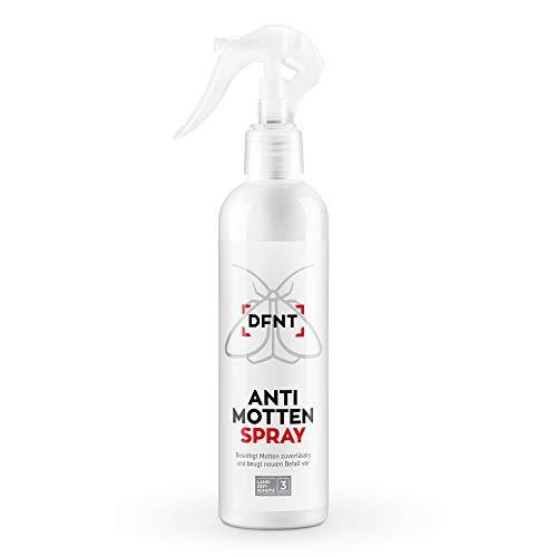DFNT Spray Anti Mites Textiles & Anti Mites Alimentaires | 250ml Vaporisateur Anti Mite | Alternative aux Piege Mites Alimentaires | Biodégradable
