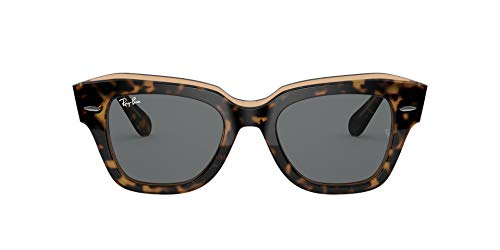 óculos de sol Ray Ban State Street mod rb2186 1292/b1 tamanho 52