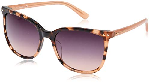 Calvin Klein EYEWEAR Womens CK18507S Sunglasses, PINK Sheer, 5618