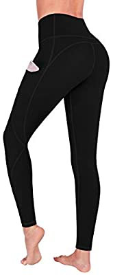 FUNANI High Waist Yoga Pants with Pockets, Yoga Pants for Women Running Workout Yoga Leggings with Pockets