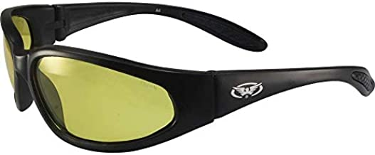 Global Vision Hercules Safety Sunglasses Matte Black Frames with 24 Hour Photochromic Yellow to Smoke Lenses ANSI Z87.1+