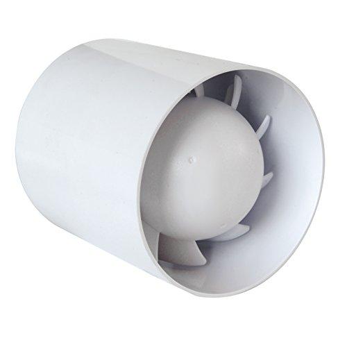 La Ventilazione AA100T Aspiratore Elicoidale per Condotti di Aerazione, diametro 100 mm