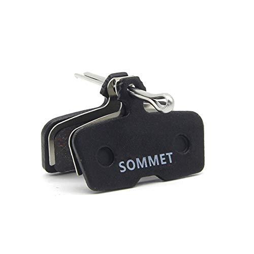 SOMMET Pastillas Freno Disco Semi-metálico para AVID Code Code R (2011-2014) SRAM Guide RE Code Sattel Code RSC 2018
