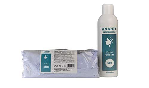 Cream Oxydant 12% 1000ml + 500g Blondierpulver ✅ Anahit Professional ✅NEW BRAND 2020 ✅ Made in Germany