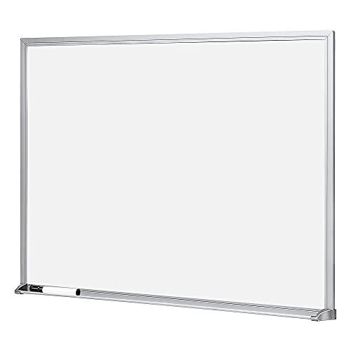 Amazon Basics Dry Erase White Board, 17 x 23 Inch Whiteboard - Silver Aluminum Frame