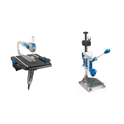 Dremel Moto-Saw MS20-1/5 - Sierra de calar estacionaria (70 W, 1 complemento, 5 accesorios) + Dremel Workstation - Centro de trabajo para Dremel