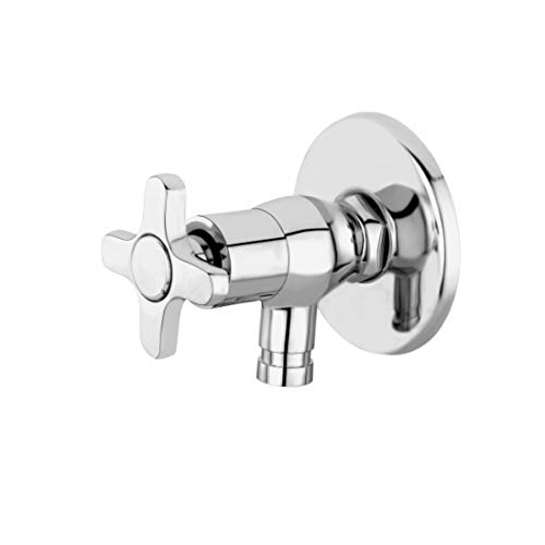 Pray Washing Machine Angle Cock Chrome Plated Brass Tap For...