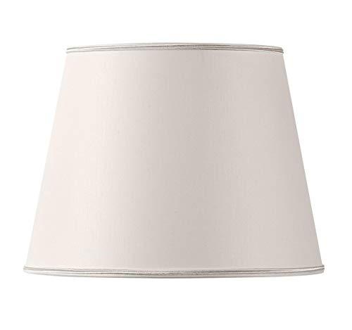 Hugo Rambert emp40perc pantalla para lámpara, tela, color blanco roto, fucsia, turquesa, negro, gris, naranja, burdeos, rojo, verde, color bronce, Violine, azul, amarillo, beige rosa