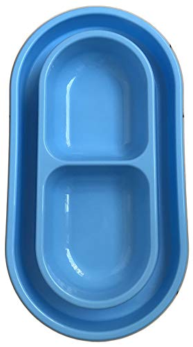 Cat Dog Pet Bowl 40 Oz Anti Ants Food Water Dish for Small to Medium Sized Cats Dogs - with You Only