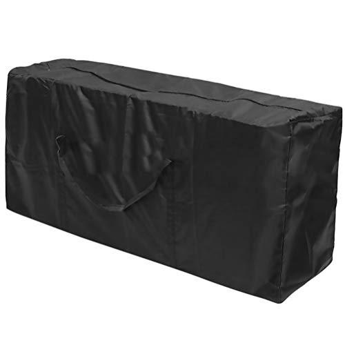 WINOMO Funda para Muebles de Jardín Impermeable Funda de Cojín para Patio Bolsa de Almacenamiento de Muebles con Asas Lavable a Prueba de Viento Al Aire Libre Banco Mesa Sofá Funda