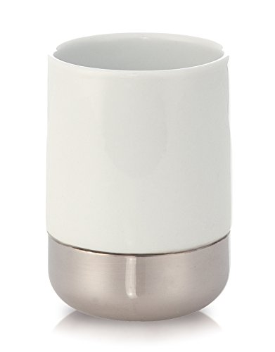 Möve 40870 Gobelet en Porcelaine Blanc