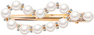 Jxc Korean Version Of The New Sweet Pearl Hairpin Geometry Small Xiangfeng Net Red Duck Beak Clip(02 Moon 1680)