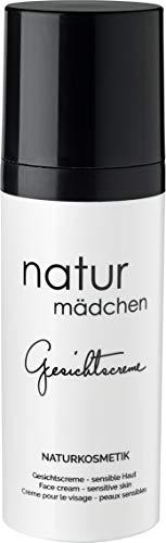 Feuchtigkeitscreme u. Gesichtscreme mit HEV-Schutz für Damen von naturmädchen 50ml – Anti-Aging u. Tagescreme mit Hyaluronsäure – Vegan skincare - Made in Germany