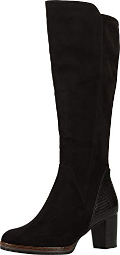MARCO TOZZI Damen 2-2-25522-25 Langschaftstiefel Kniehohe Stiefel, Black Comb, 40 EU