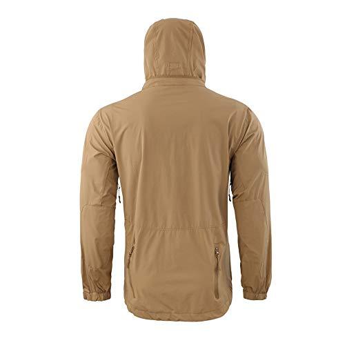 Kapian Arbeitsjacke Männer Arbeitsjacken Herren, Schutzjacke mit vielen Taschen, Arbeitskleidung männer Größen Softshell Jacke Übergangsjacke Freizeitjacke Wetterjacke Sportjacke