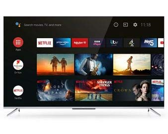 TCL 43P715K 43' Ultra Slim 4K HDR SMART Android TV with Freeview HD