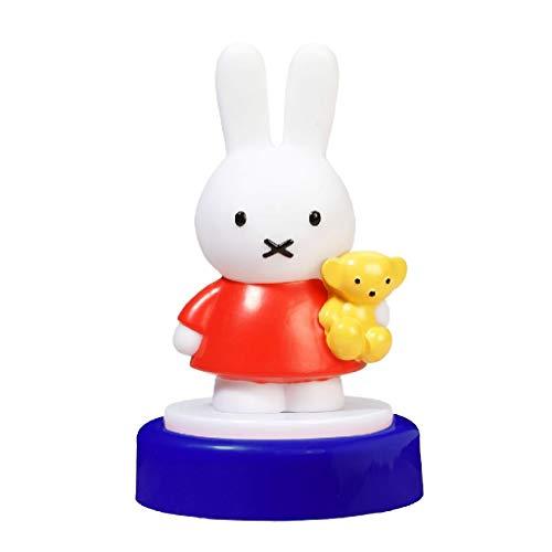 Miffy - Lámpara nocturna para bebés con diseño de conejito Miffy, multicolor