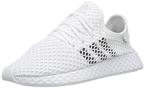 adidas Herren Deerupt Runner Fitnessschuhe, Weiß (Ftwbla/Negbás/Gridos 000), 45 1/3 EU