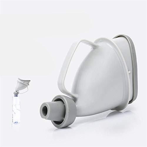 Taille compacte en Plein Air d'urgence Femmes Femmes Enfants Voiture Portable Urinoir en Plein Air Voyage Stand Up Pee Urination Device Case - Gris
