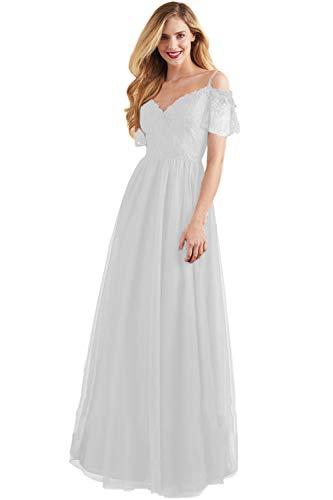 Oleg Cassini Off the Shoulder Tulle Wedding Dress