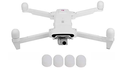 Linghuang Sunnylife 4 Stück Motorschutzhaube aus Silikon für Xiaomi FiMI X8 SE Drone Stöpsel Staubschutz unzerbrechlich Motor (weiß)