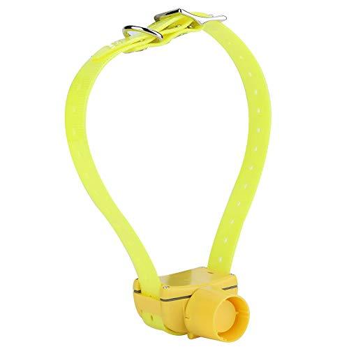 Weikeya Collar de Caza, Collar Incorporado Perro de plástico de plástico Hecho (Amarillo)