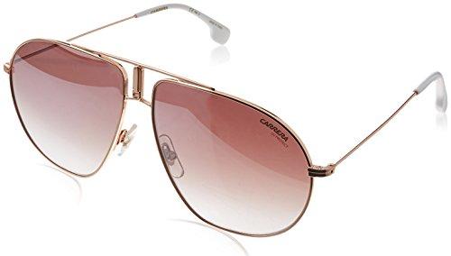 Carrera BOUND/S Pilot Sunglasses, Gold Copper/Brown Gradient Mirror, 60 mm