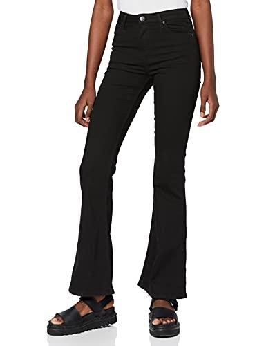 Lee Breese Jeans, Nero (Black Rinse 47), 29W / 31L Donna