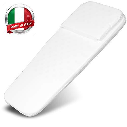 Kinderwagen Matratze-Baby Bett-Kinderbett-Plus Produkte Kinder-Laufstall Baby- Kissen-Teppich Kinderzimmer-Baby Zubehör-Beistellbett Baby-Made in Italy 72 x 32/27cm