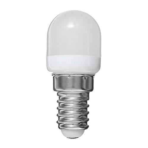 Flytise Mini E14 Blub AC220V 2W rigerador Lámpara de Alto Brillo Ahorro de energía